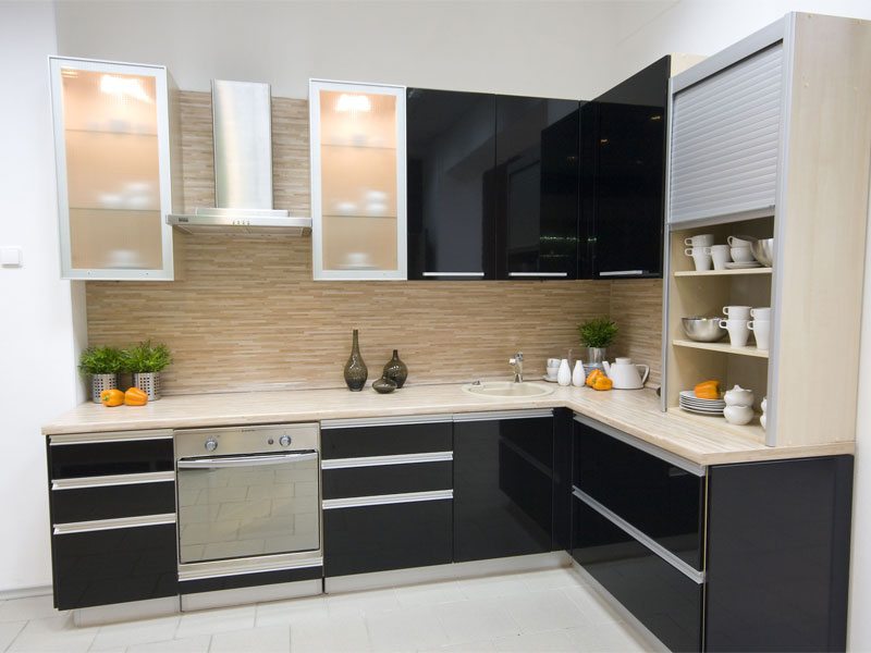 Aluminium Modular Kitchen Cabinets Chennai Bluefox 95140 19199