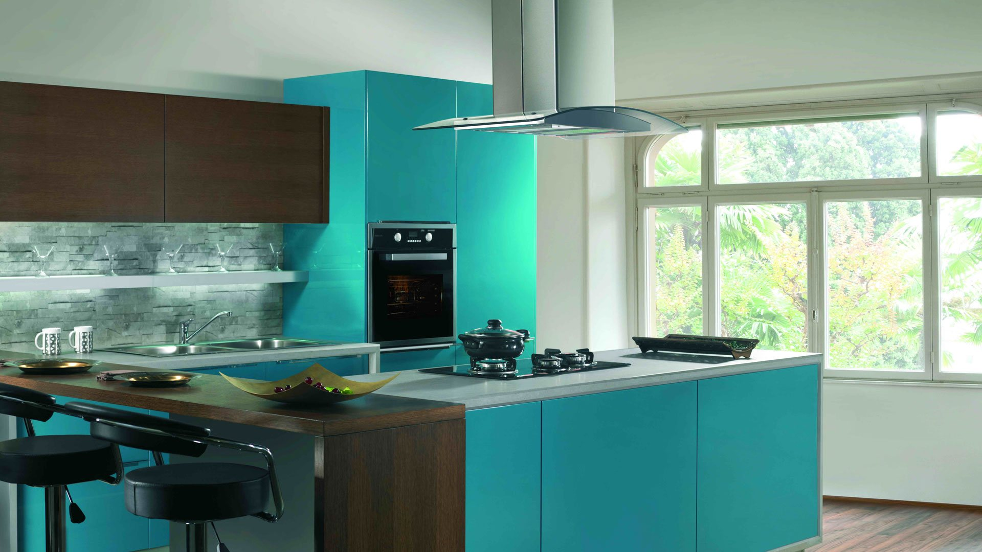 Steel Modular Kitchen Chennai Bluefox Interio 95140 19199