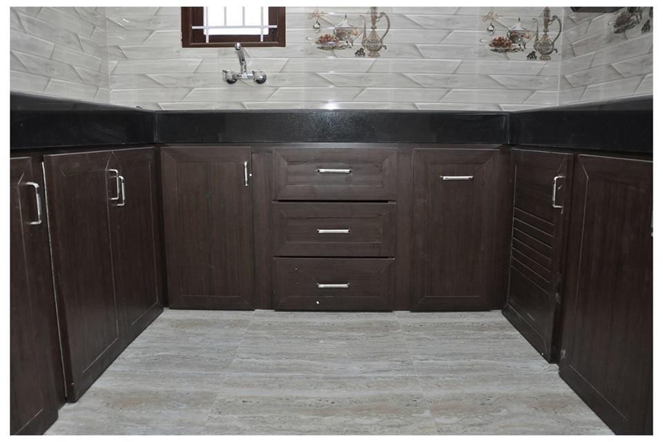 PVC Modular Kitchen Salem- Bluefox Interio 96003 99153